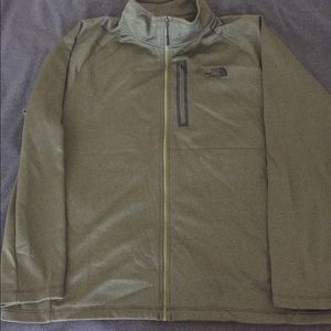 North face canyon lands jacket xxl 2x green men's